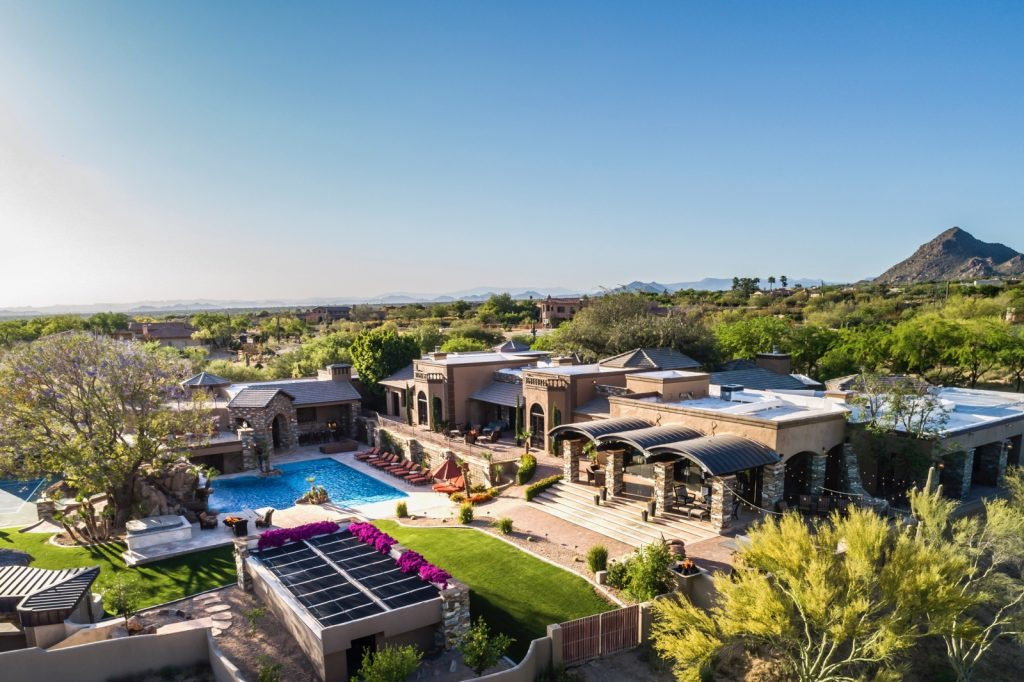 FEATURED | Cool Scottsdale Home | Theater, Putting Green, 8 Car Garage