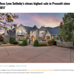 SOLD| HIGHEST Closing in Prescott Since 2017!
